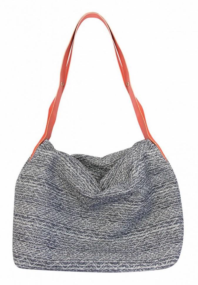 Smart bag 3 en 1 en tweed recyclé et cuir végétal, 165€