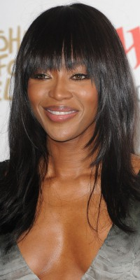 Naomi Campbell : un beauty look de bombe !