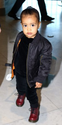 North West : Super craquante en look rock'n roll  !