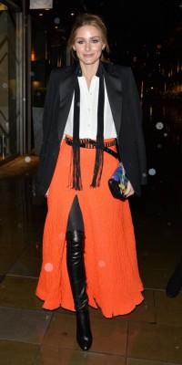 Olivia Palermo : total look bohème-chic !