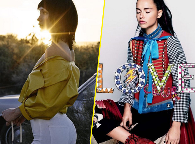 Bella Hadid et Adriana Lima : les bombes posent pour Love Magazine