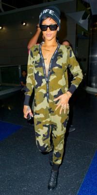Rihanna : accro à la tendance camouflage... Comme elle, succombez !