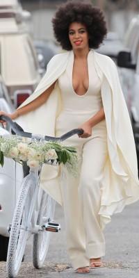 Solange Knowles : une mariée groovy et old school !
