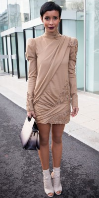 Sonia Rolland : sexy en look minimaliste et girly !
