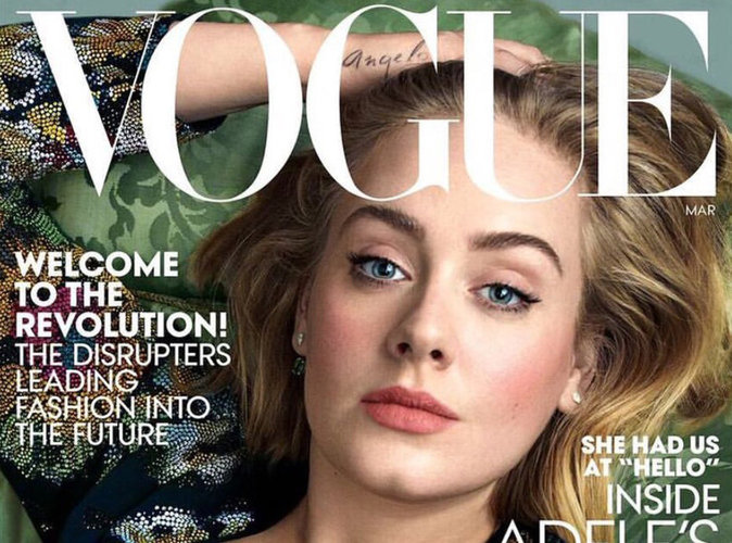 Adele : magistrale pour Vogue !
