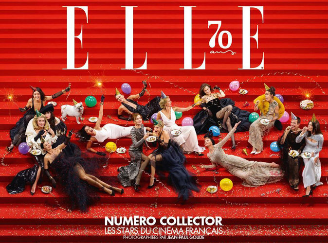 Adjani, Bellucci, Huppert, Béart... 14 grandes actrices pour les 70 ans de ELLE !