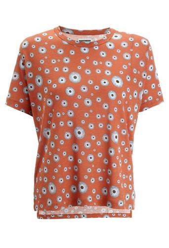 Tee-Shirt imprimé globes oculaires Agyness Deyn pour Dr Martens