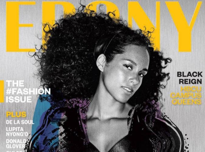 Alicia Keys : 100 % naturelle en couverture d'Ebony Magazine