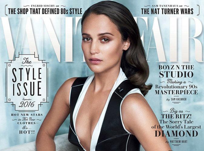 Alicia Vikander : après l'Oscar, la couverture de Vanity Fair !