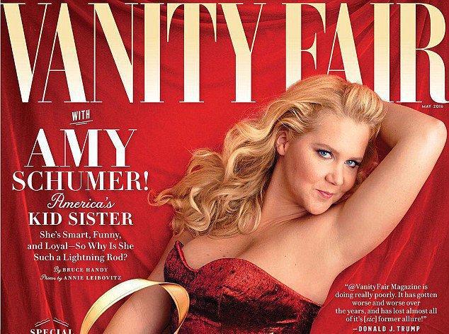 Amy Schumer : une plantureuse pin-up pour Vanity Fair !
