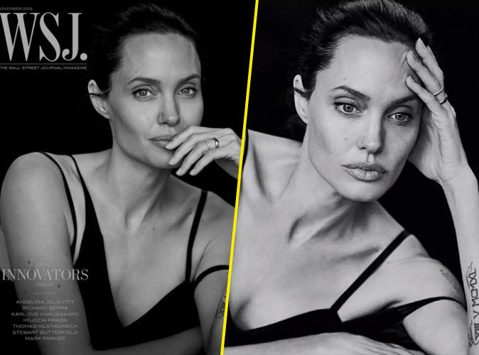 Angelina Jolie : pure beauté en une de WSJ Magazine !