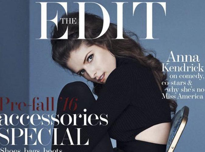 """Anna Kendrick :  nouvelle super-héroïne ? La star dit tout en couverture de """"The Edit"""""""