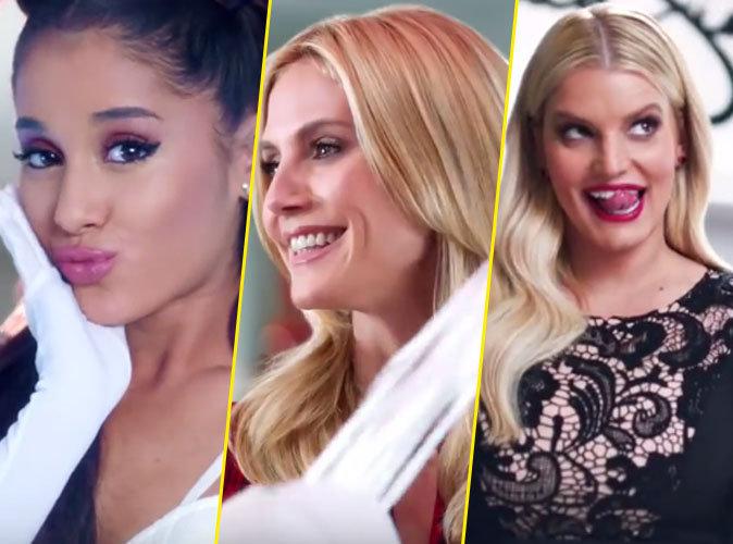 Ariana Grande, Heidi Klum, Jessica Simpson : shopping addicts pour Macy's !