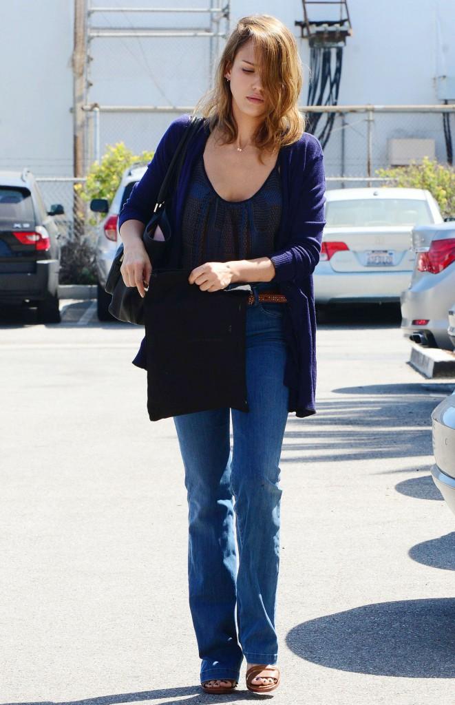Jessica Alba, fraîche et naturelle !
