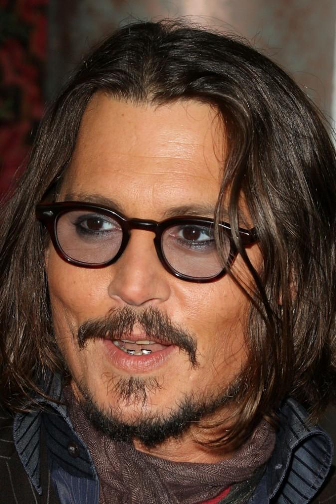 Johnny Depp et ses yeux maquillés !