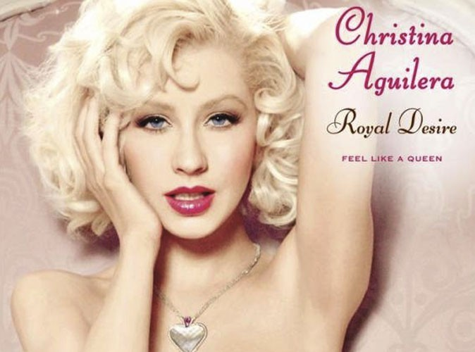 Beauté : Christina Aguilera : la campagne de son parfum Royal Desire fait polémique !