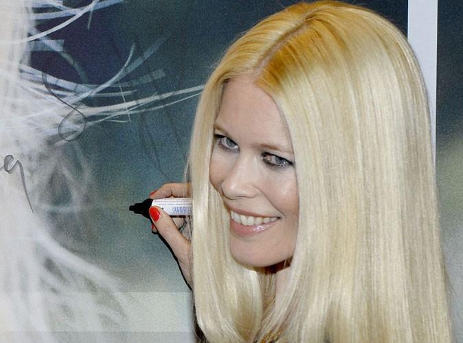 Beauté : Claudia Schiffer lance sa gamme de produits capillaires !