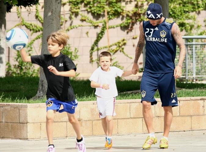 Beauté : David Beckham se fie au nez de ses fils !