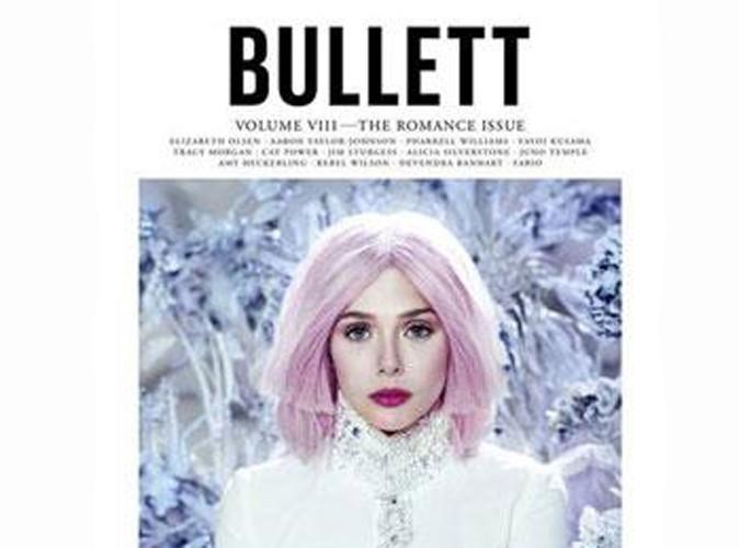 Beauté : Elizabeth Olsen se la joue pink pour le magazine Bullett !