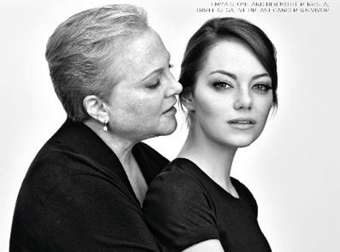 Beauté : Emma Stone et sa mère luttent contre le cancer pour Revlon !