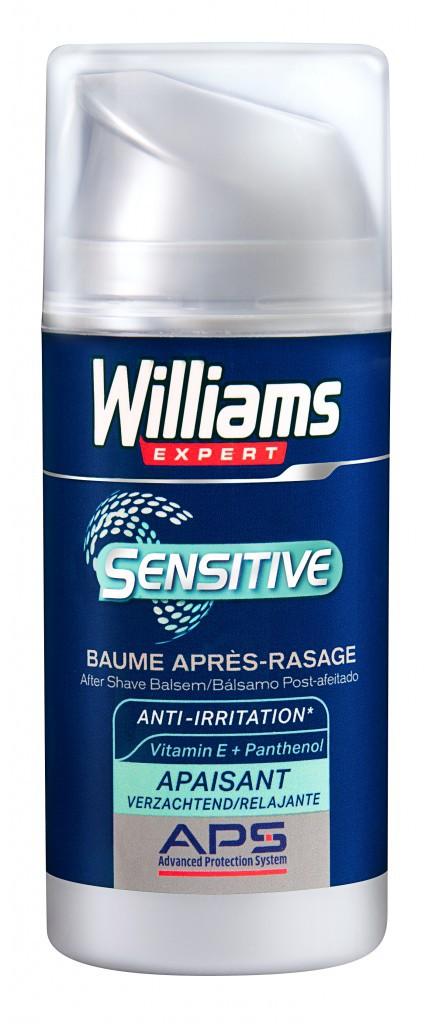 Baume après-rasage, Williams Expert Sensitive