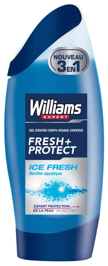 Gels douche 3 en 1 Williams