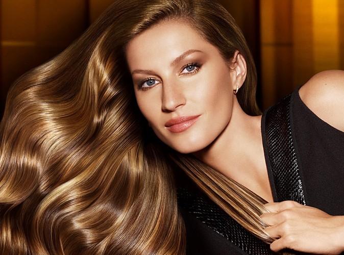 Beauté: Gisele Bündchen : une princesse aux cheveux d'ange pour Pantene !