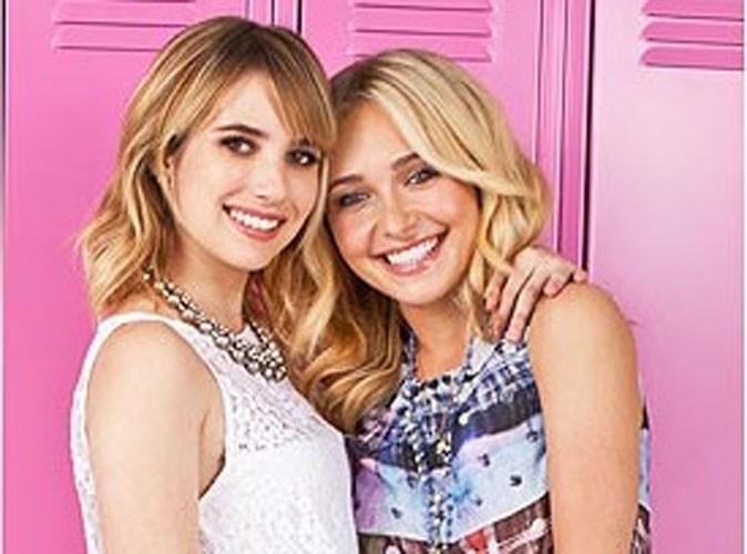 Beauté : Hayden Panettiere et Emma Roberts, deux minois angéliques pour Neutrogena !