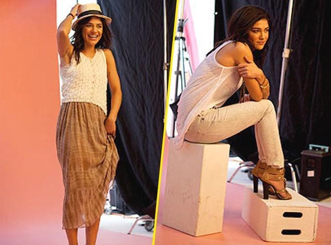 Beauté : Jessica Szohr montre ses aisselles pour la nouvelle campagne de pub Dove !