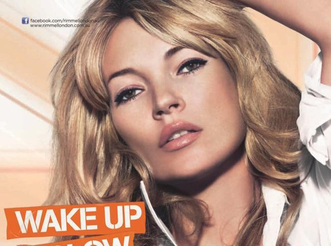 Beauté : Kate Moss, une brindille bourrée de charme pour Rimmel !