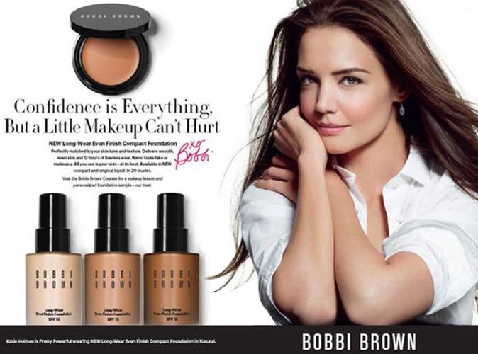 Beauté : Katie Holmes beauté naturelle pour Bobbi Brown !