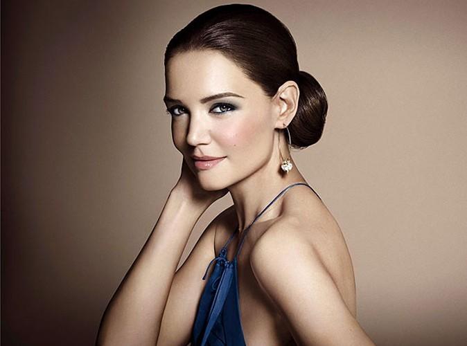 Beauté : Katie Holmes glamour pour Bobbi Brown !
