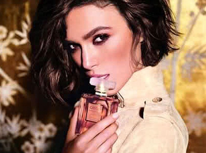 Beauté : Keira Knightley est captivante en Mademoiselle Coco pour Chanel !