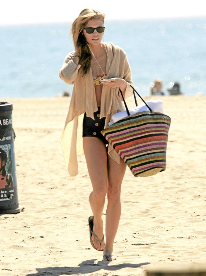 La check list mode et beauté plage d'AnnaLynne McCord !