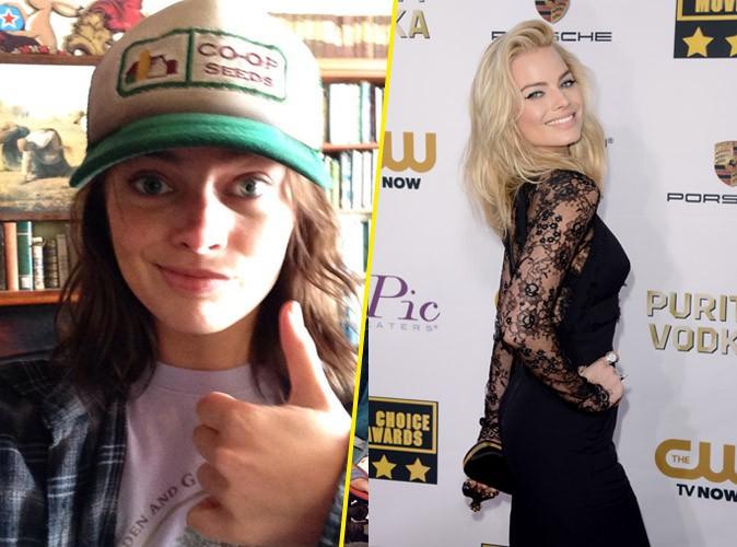 Beauté : Margot Robbie n'est plus blonde !