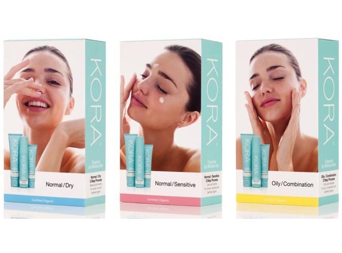 Beauté : Miranda Kerr lance sa gamme de cosmetiques en trois étapes !
