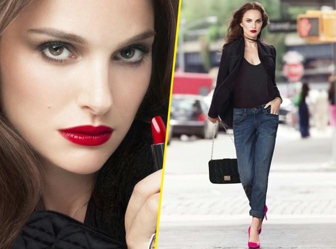 Beauté : Natalie Portman : femme fatale et regard de braise pour Dior !