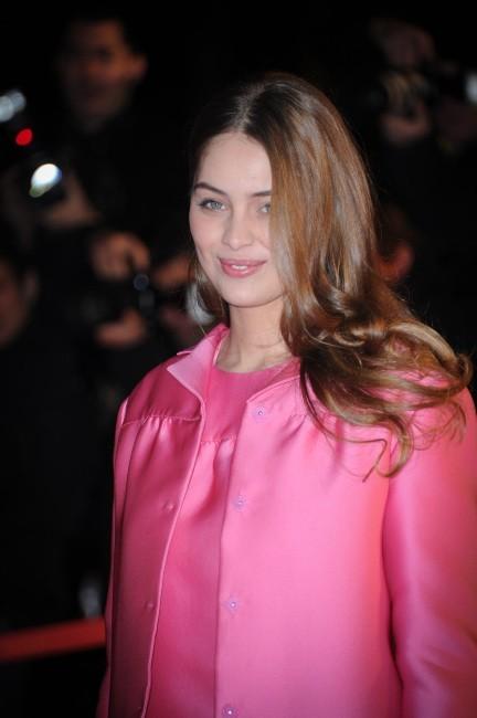 La chevelure wavy de Marie-Ange Casta le 26 janvier 2013 à Cannes