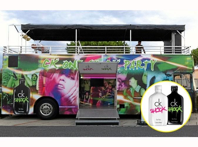 Beauté : prenez le bus avec CK One Shock !