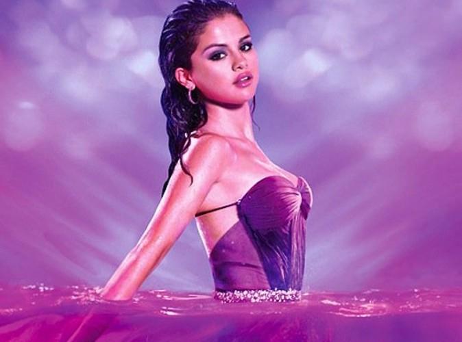 Beauté : Selena Gomez, une créature subaquatique pour la campagne de son nouveau parfum !