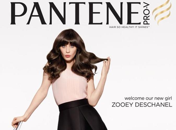 Beauté : Zooey Deschanel est la nouvelle égérie chevelue de Pantene !