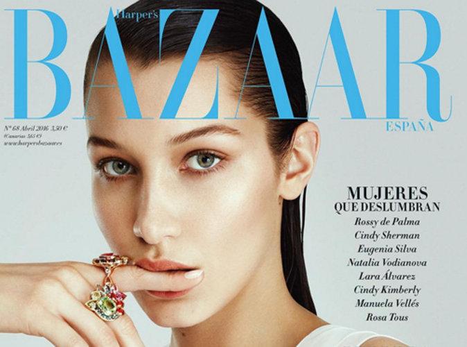 Bella Hadid : attractive et fascinante en couverture de Harper's Bazaar Espagne