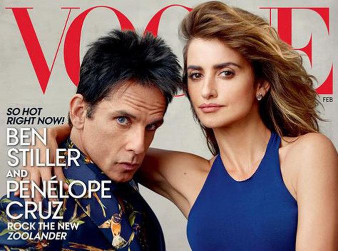 Ben Stiller et Penelope Cruz : stylés et assortis en une de Vogue !