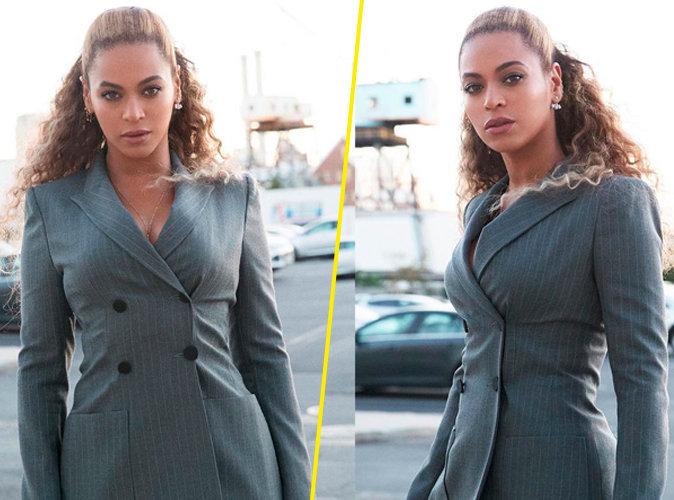 Beyoncé : Elle montre comment être sexy et féminine en costard !