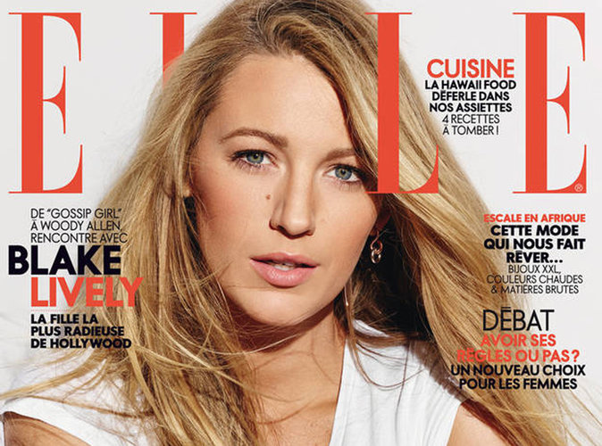 Blake Lively : captivante en couverture du magazine ELLE France