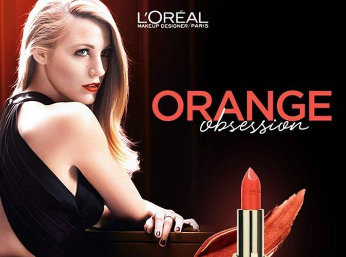 Blake Lively : captivante pour la nouvelle campagne de L'Oréal Paris !