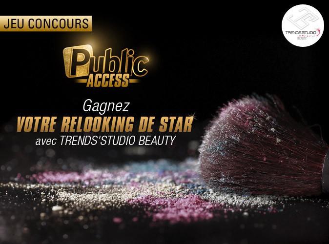"""Bon plan spécial """"Public Access"""" : Public vous offre votre relooking de star avec Trends'Studio Beauty !"""