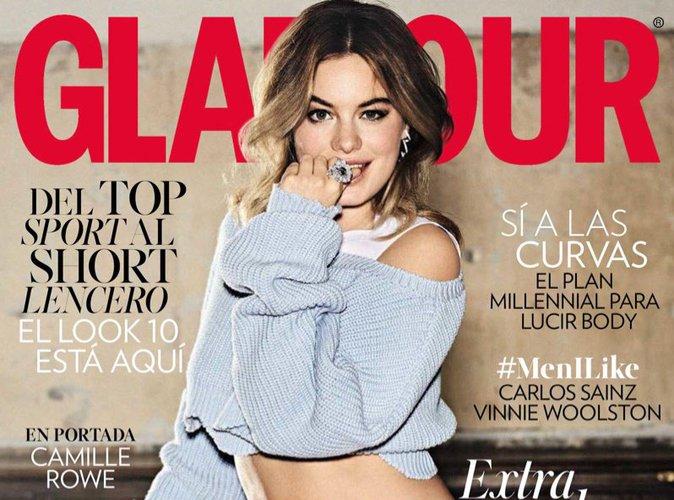 """Camille Rowe dans Glamour Espagne : """"liberté, égalité, sensualité"""" !"""