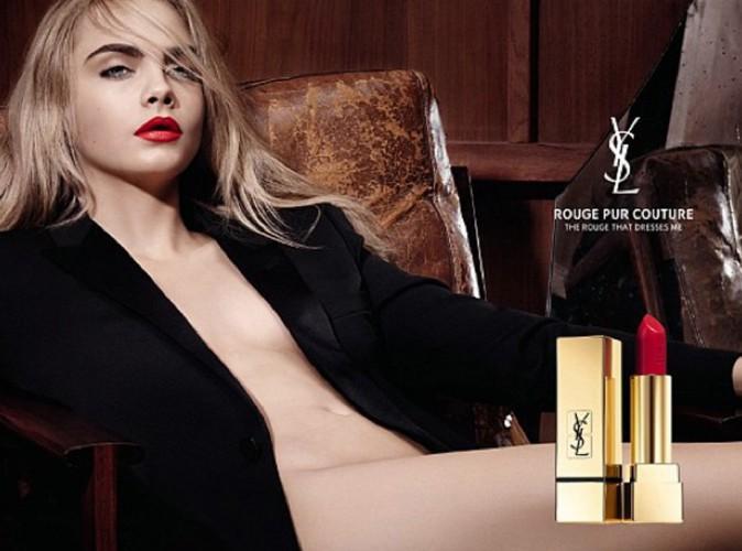 Cara Delevingne : pour Yves Saint Laurent, elle se déshabille !