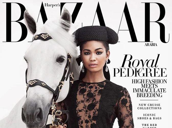 Chanel Iman : l'élégance incarnée en une de Harper's Bazaar Arabia !